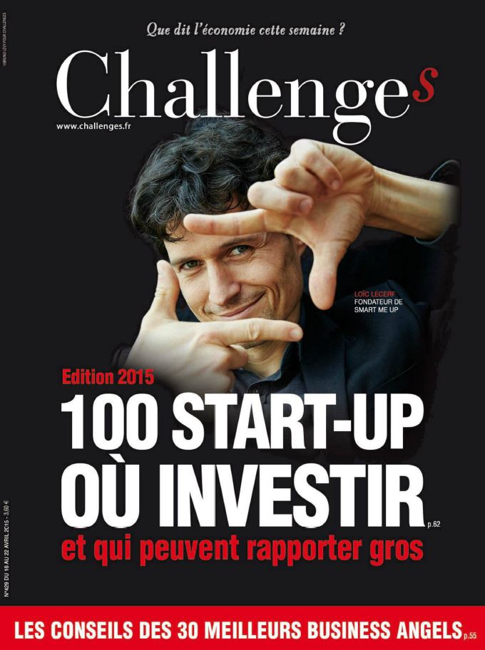 challenge magazine cover Loic Lecerf